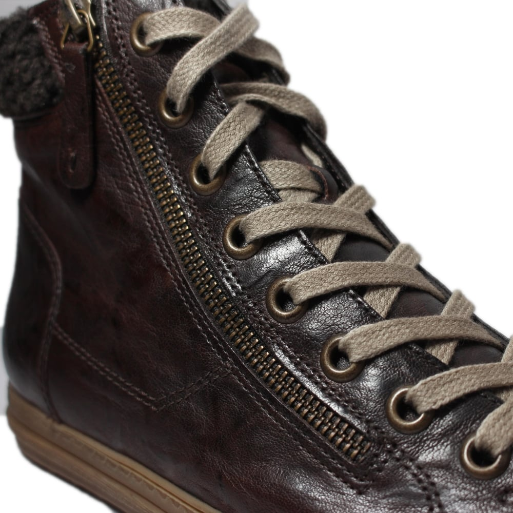 Paul Green 4321-07 Brown Leather Womens
