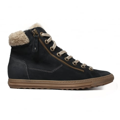 PAUL GREEN 4321-12 Navy Womens Boot