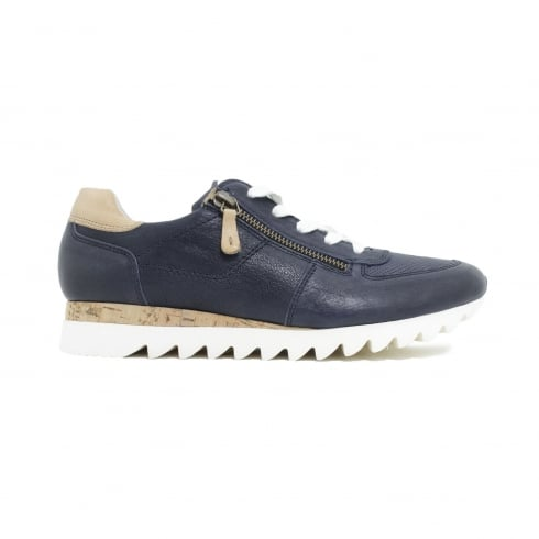 PAUL GREEN 4485-01 Navy Womens Shoe