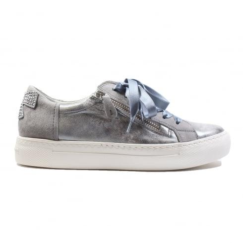 PAUL GREEN 4594-02 Silver Womens Shoe