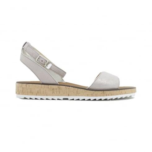 PAUL GREEN 6088-03 Beige Womens Sandal