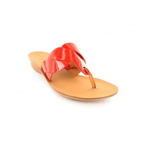 PAUL GREEN 6251-01 Red Womens Sandal