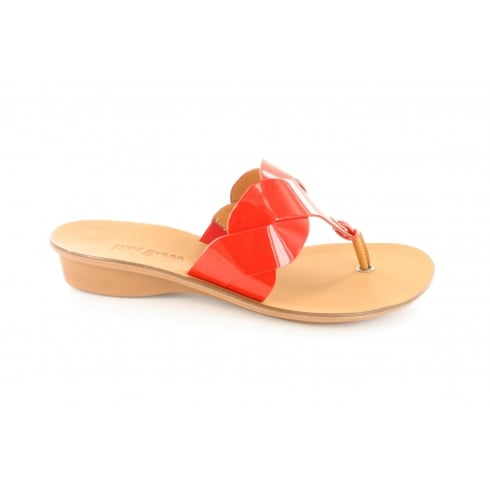 PAUL GREEN 6251-01 Red Womens Sandal