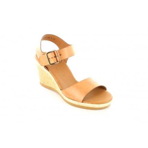 PAUL GREEN 6616-02 Tan Womens Sandal