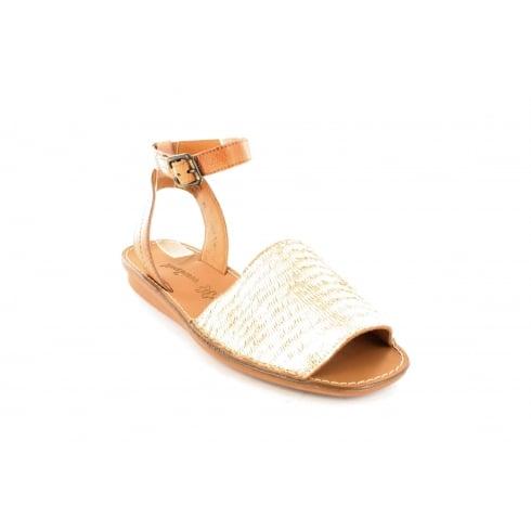 PAUL GREEN 6752-02 Gold Womens Sandal