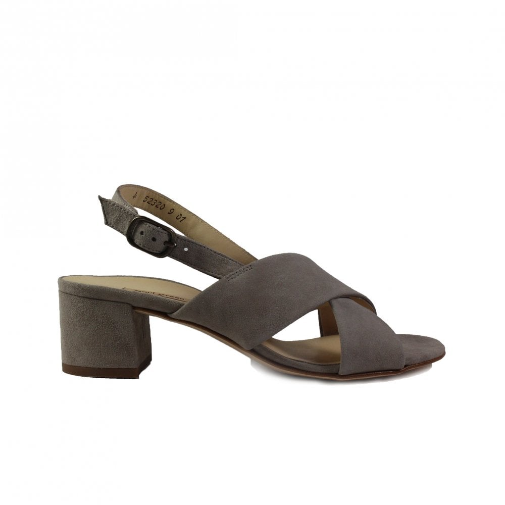 Paul Green 7066-04 Taupe Suede Leather