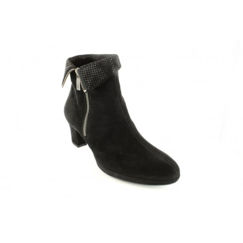 PAUL GREEN 8440-02 Black Womens Boot