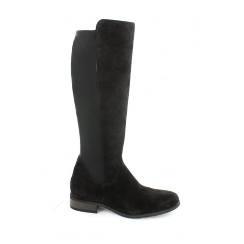 PAUL GREEN 8496-01 Black Womens Boot