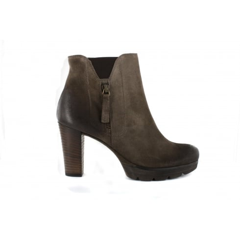 PAUL GREEN 8722-01 Brown Womens Boot