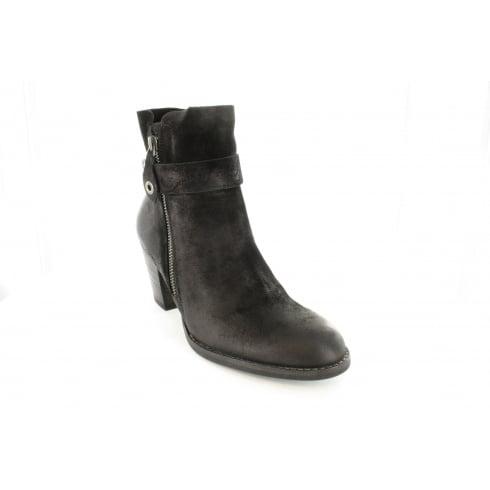 PAUL GREEN 8831-00 Black Womens Boot