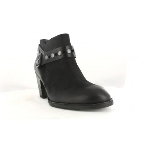 PAUL GREEN 8834-01 Black Womens Boot