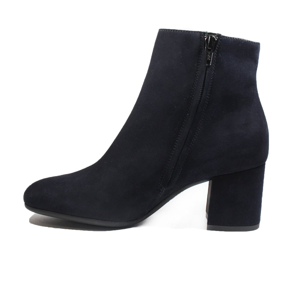 Paul Green 8997-02 Blue Suede Leather