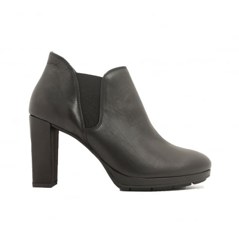 PAUL GREEN 9177-00 Black Womens Boot