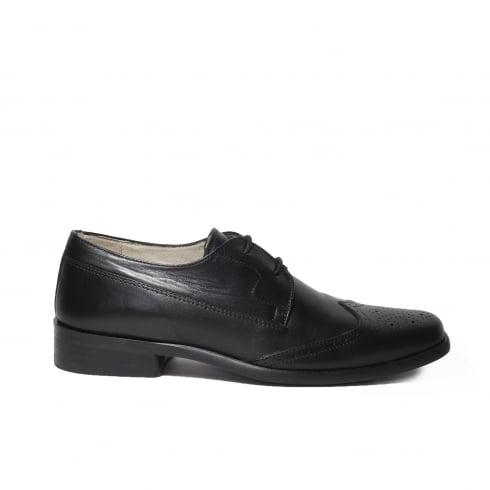 PETASIL Topper Black Boys Shoe