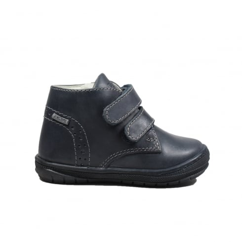 0f0067f13017 Primigi Soul Navy Leather Boys Rip Tape Ankle Boots - Primigi from North  Shoes UK