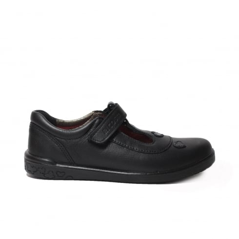 RICOSTA Liza Black Girls Shoe