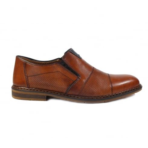 RIEKER B1765-24 Tan Mens Shoe
