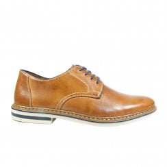 Finchley B1422-25 Tan Leather Mens Lace Up Shoes