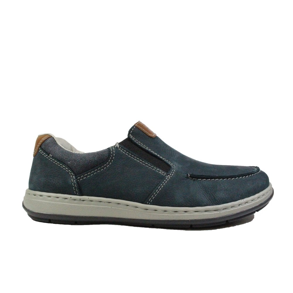 Rieker Patros 17360-15 Navy Leather