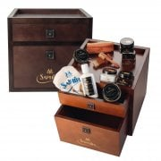 Accessories Drawers Brown - All Your Necessary Shoe Care Kit
