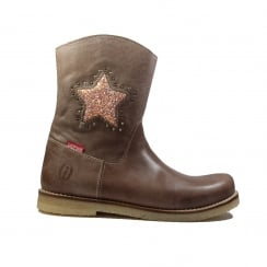 CR7W091A Taupe Girls Boot