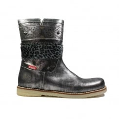 CR7W105A Silver Girls Boot