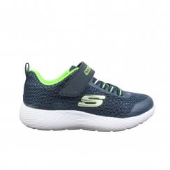60beb39ed281 Dyna-Lite 98120L Navy Mesh Boys Bungee Lace Rip Tape Trainers. Skechers ...
