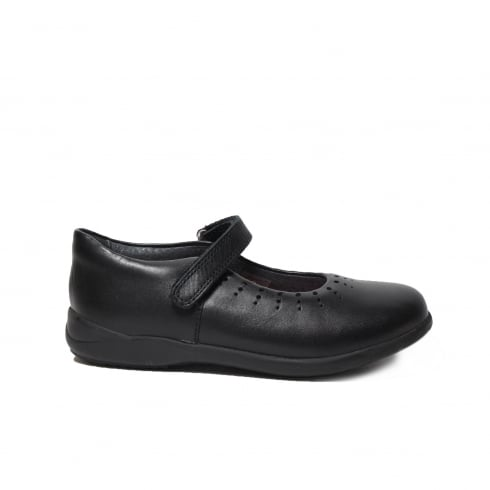 STARTRITE Mary Jane Black Girls Shoe