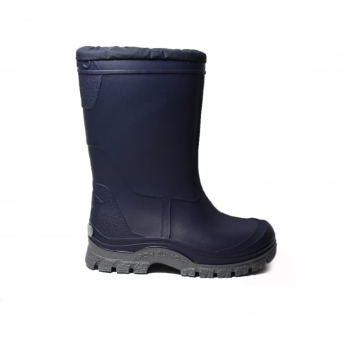 STARTRITE Mud Buster Navy/Pink Wellington Boot