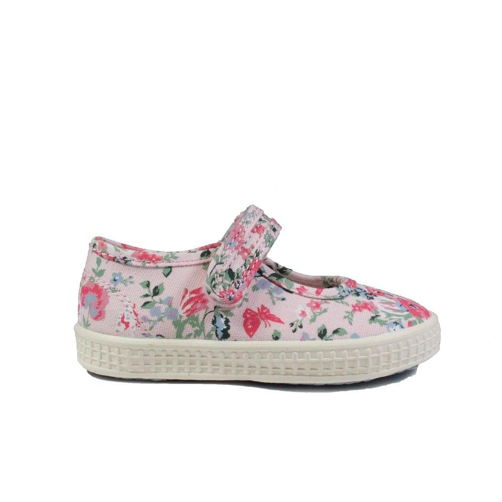 Clarks Comic Cool Girls Cream Shoe
