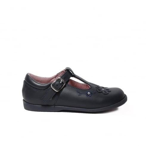 STARTRITE Sunflower Navy Girls Shoe