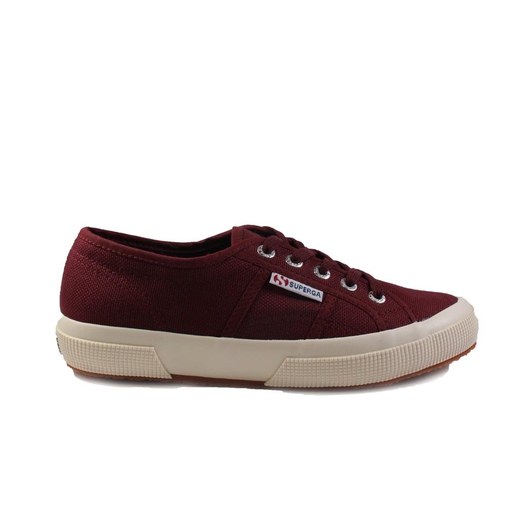 buy popular 8f0ef 85d70 Cotu Classic Canvas Burgundy Unisex Lace Up Shoes