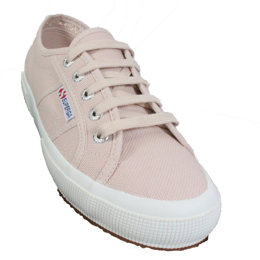 Cotu Classic Pink Skin Canvas Womens Lace Up Shoes