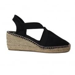 Ter Black Womens Sandal