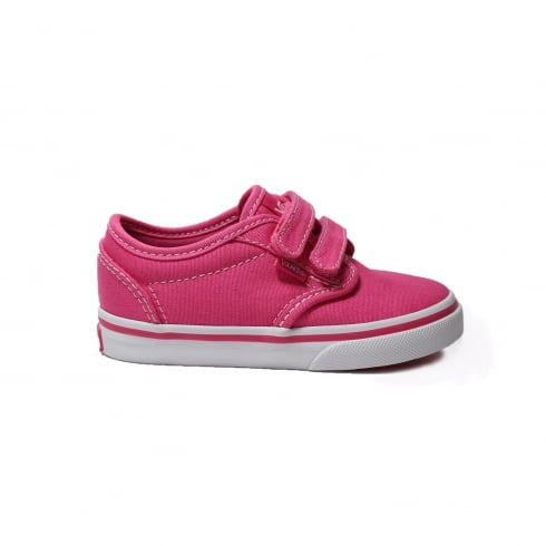 Vans VRQX8IX Atwood Pink Canvas Unisex Rip Tape Casual Shoe