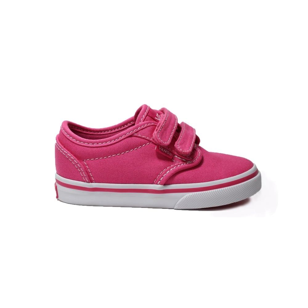 kilpailukykyinen hinta virallinen myymälä huippusuunnittelu VRQX8IX Atwood Pink Canvas Unisex Rip Tape Casual Shoes