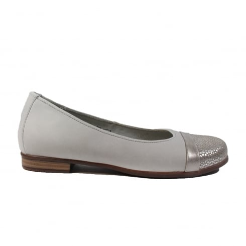 WALDLAUFER 328004317120 Platin Womens Shoe