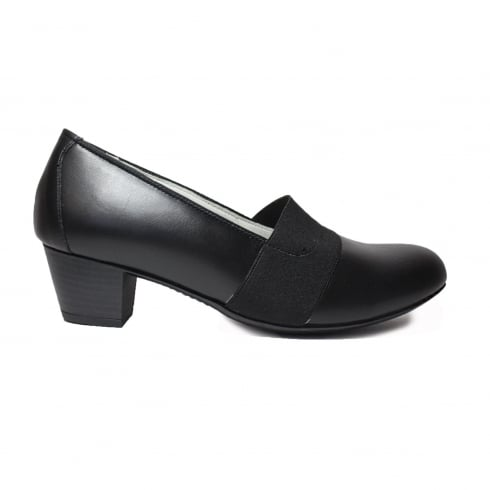 WALDLAUFER 358505186001 Black Womens Shoe